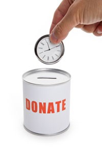 Donating-time