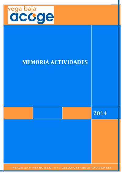 Memoria Actividades 2014