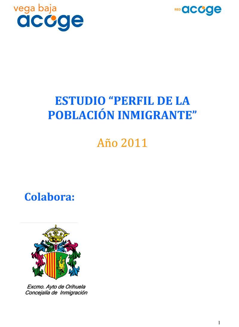 Estudio Vega Baja Acoge 2011
