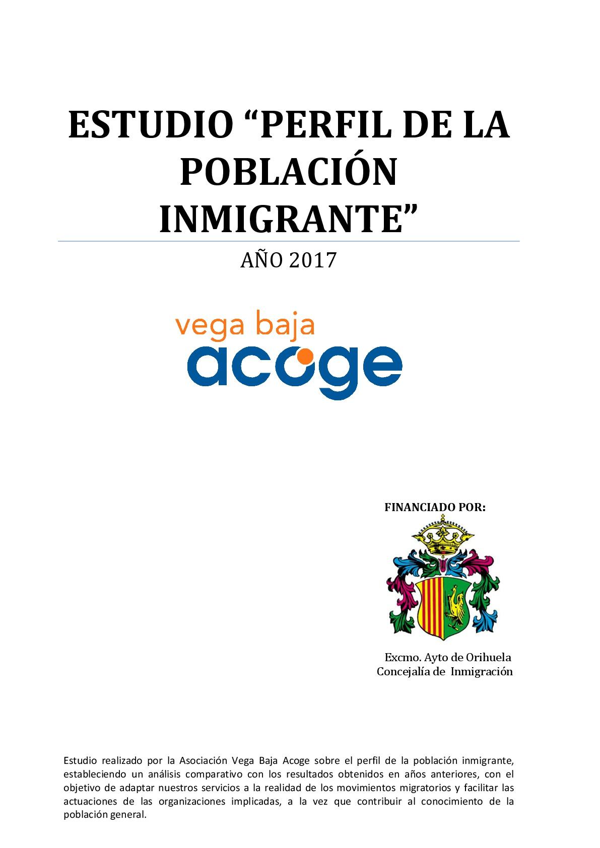 Estudio Vega Baja Acoge 2017