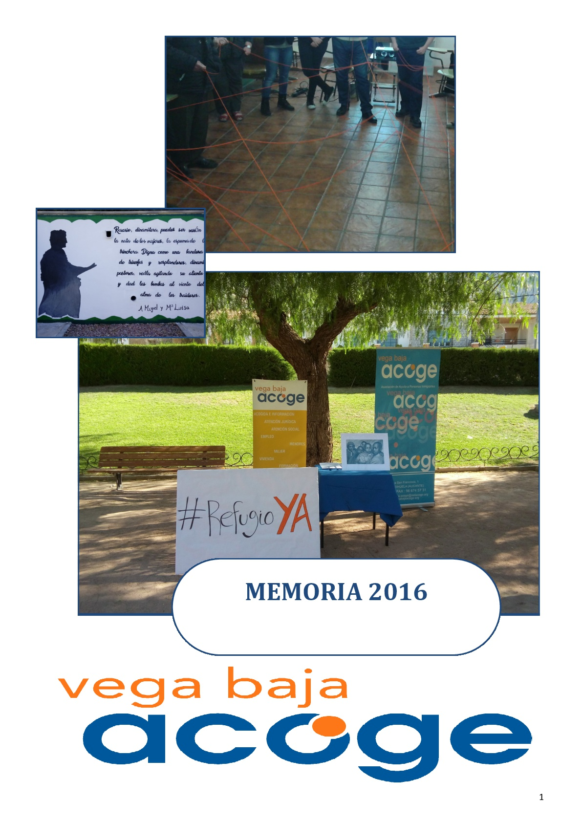 Memoria Actividades 2016
